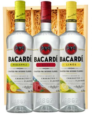 Bacardi Limon, Razz & Pineapple