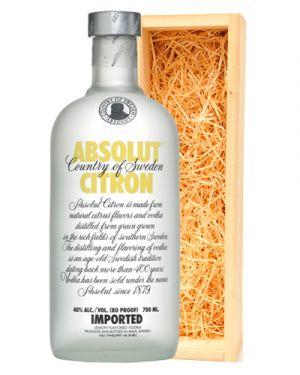 Absolut Vodka Citron