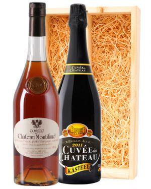 Kasteel Cuvée Du Chateau & Chateau Montifaud Cognac VSOP