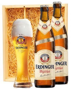 Erdinger Weissbier + Erdinger glas