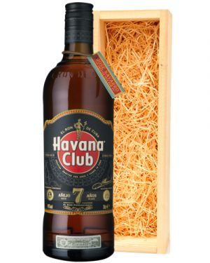 Havana Club 7 Years Old Black