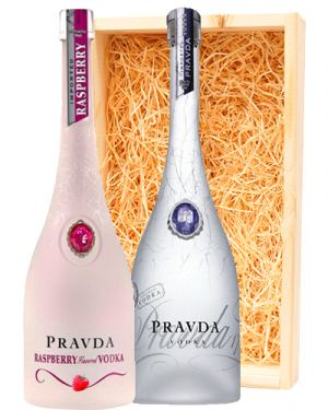 Pravda Vodka Raspberry & Pravda Vodka