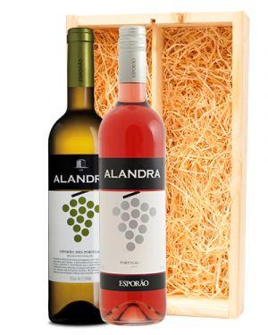 Alandra wit & rosé