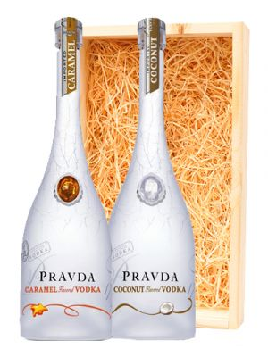 Pravda Vodka Coconut & Vodka Caramel