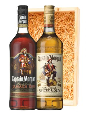 Captain Morgan Spiced & Black Rum