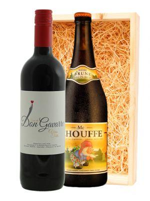 Finca Don Gavarre Tinto & Mc Chouffe Belgisch Bruin