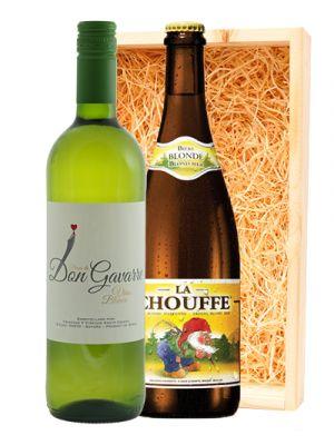 Finca Don Gavarre Blanco & La Chouffe Belgisch Blond