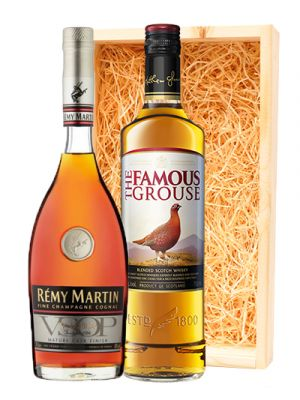 Famous Grouse Scotch whisky & Remy Martin Cognac VSOP