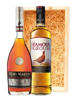 Famous Grouse Scotch whisky & Remy Martin Cognac VSOP