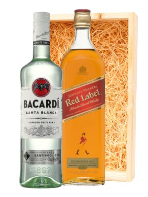 Johnnie Walker Red Label & Bacardi Carta Blanca