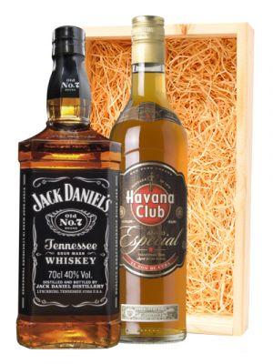 Jack Daniel's Black Label & Havana Club Anejo Especial