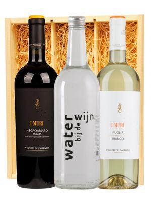 I Muri Bianco & Rosso + Water bij de Wijn