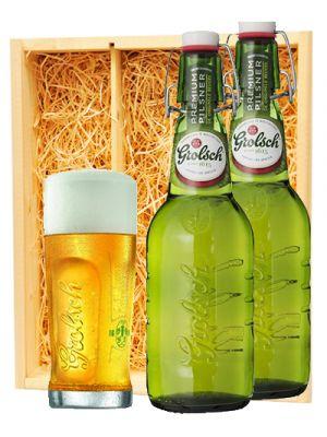 Grolsch Premium Pils + Grolsch glas