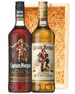 Captain Morgan Spiced & Black Rum