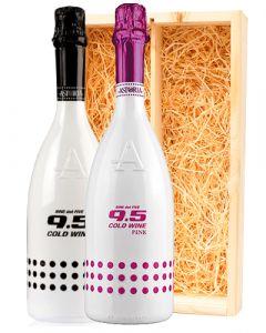 Astoria 9.5 Cold Wine WHITE & PINK