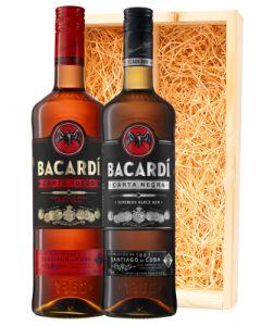 Bacardi Carta Fuego & Carta Negra