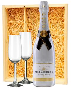 Moët & Chandon Champagne Ice + 2 Moët Ice flutes