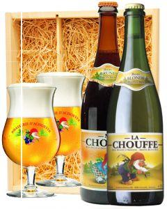 La Chouffe & Mc Chouffe + 2 La Chouffe glazen